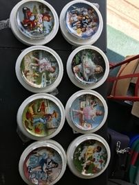 Danbury Mint Children if the Week Collection 8 plate set. Must sell as set.