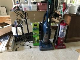Wine rack, wine bags (hold 2 750ml bottles per bag), 2 vacuums.