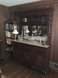 Last Marble Top Buffet Available.  PRICED TO SELL QUICKLY ON SUNDAY! $495.00!
