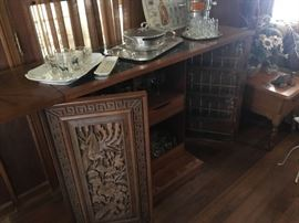 Beautifully detailed mid-century bar
