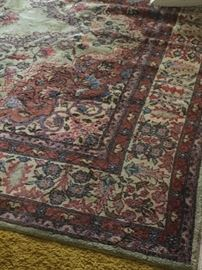 Another of the beautiful rugs in the house.