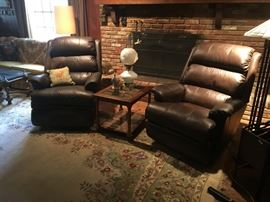 Very large, very comfortable recliners. PRICED TO SELL QUICKLY ON SUNDAY! $247.50!!!
