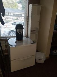 Washer, dryer drawer pedastals