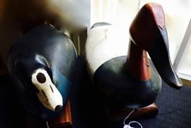 Quack Quack! Antique/Vintage Decoy Ducks, run, they're special!