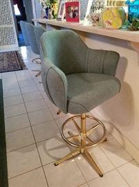 Mid Century Modern stools