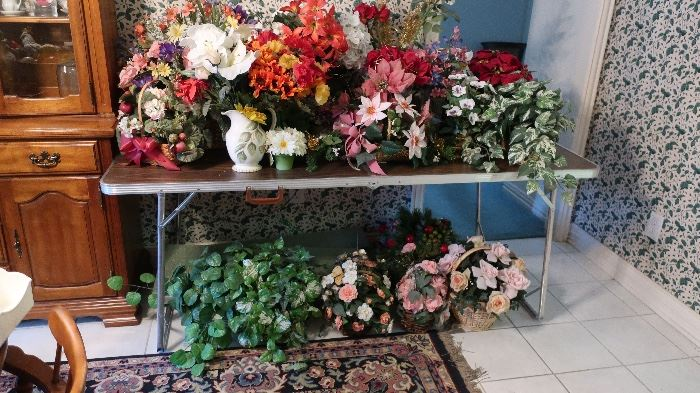 Lots on flowers