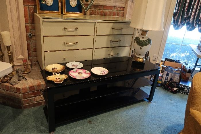 MCM long dresser and TV Stand