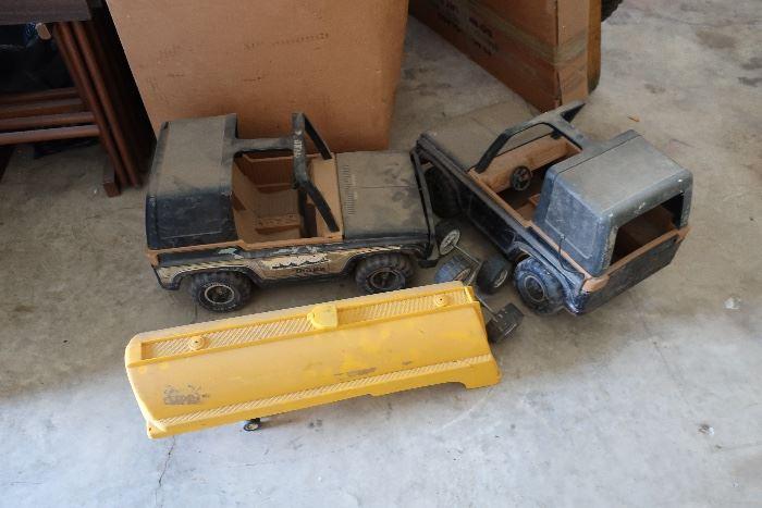 Tonka Trucks and others