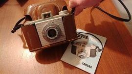 Kodak Pony Camera and leather case