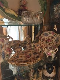 Antique porcelain hand painted China