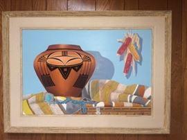 Earl G. Hammock Southwestern painting