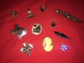 Mostly sterling pieces