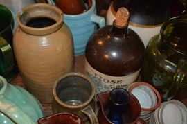 Pottery collection, so many to choose from