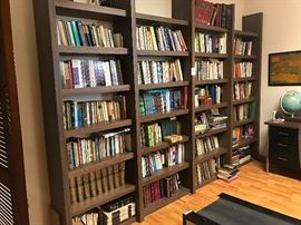 Bookcases are not for sale.