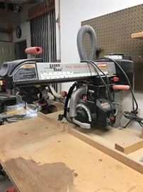 "Craftsman Laser Trac 10"" Radial Arm Saw"