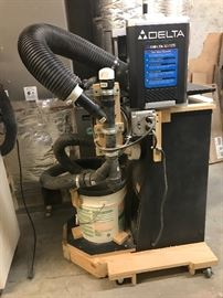 Delta 12.5 inch planer on dust recovery stand