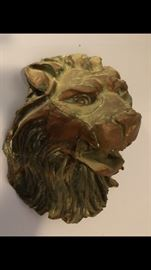 Large Lions Head