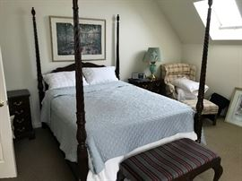 4 Post Bed (Bedding NOT included) $ 380.00