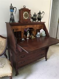 Beautiful Mahogany Secretary