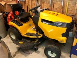 Virtually new -- Cub Cadet XT1