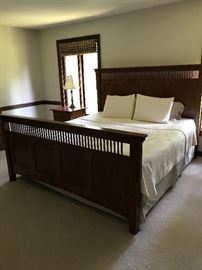 Buy it now - $2,500 Amish Sleep Number King Size Bed