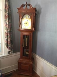 Emperor grandfather clock.
