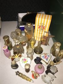 antique and vintage perfume bottles