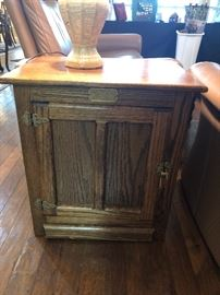 Oak reproduction  cabinet
