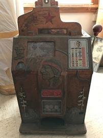 Chief 5 cent slot machine