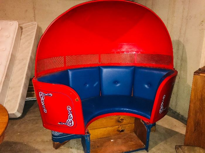 Vintage TILT A WHIRL carnival ride car - GREAT!! condition - The real Deal~!