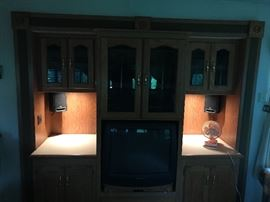 TV/Entertainment console n Holiday Rambler