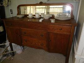 Nice antique oak sideboard