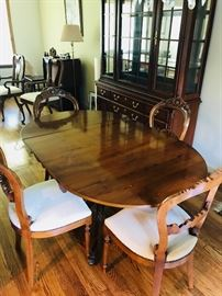 N. Norman Ltd England table and chairs