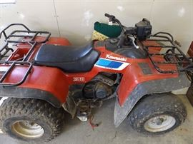 Kawasaki 300 Bayou non running parts or repair