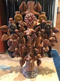 Mexican folk art (Tree of Life)