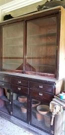 Antique General Store Cabinetry
