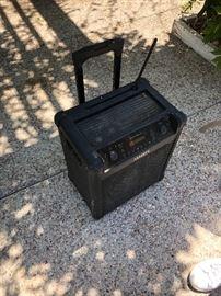 Ion outdoor speaker