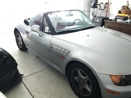 1996 BMW z3 Carried the Olympic torch! Red leather interior 65,000 miles! $6,000