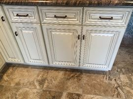 cabinets off white