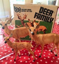 Breyer deer in original box