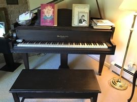 Wm Knabe Baby Grand from 1938.  In the same family for generations!
