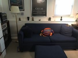 Sleeper sofa and ottoman in nice condition