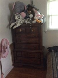 Chest of Drawers, has matching dresser with mirror, nightstand and bed frame
