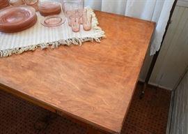 Vintage Flip-Top Table