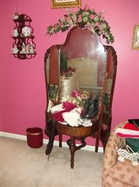 Deco dressing  mirror and stand
