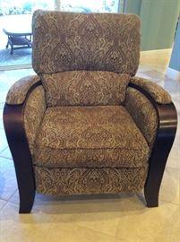 La-Z-Boy custom upholstered recliner