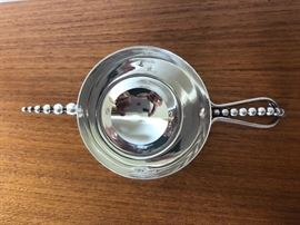 Antique Napier Whiskey shot sterling silver measuring cup