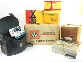 . Vintage Camera Lot and More        http://www.ctonlineauctions.com/detail.asp?id=745233