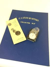 U.S. Coin Collection and Chesterfield Pocket Timer         http://www.ctonlineauctions.com/detail.asp?id=745234