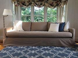 Pottery Barn Slip Cover Sofa, Pair Available!